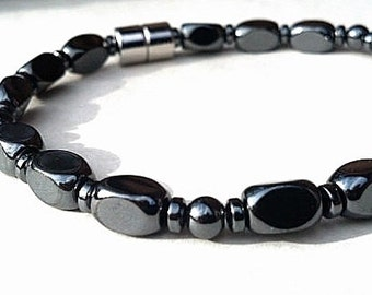PET Large Magnetic Collar therapy Hematite High Strength Magnetic Custom Sized pet jewelry Wellness Health
