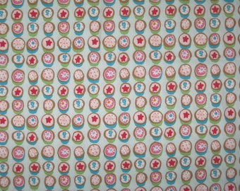 Alexander Henry Petits Fours on mint 1 yard Out of print