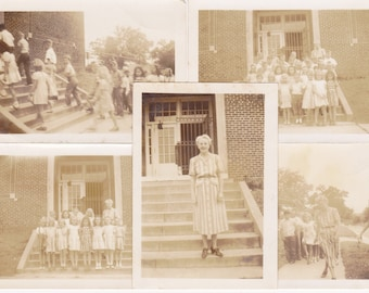 items similar to antique class photo lot of 6 school