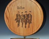 Art object in Elm with the Beatles
