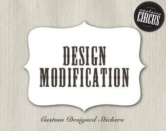 Design Modification Add-on