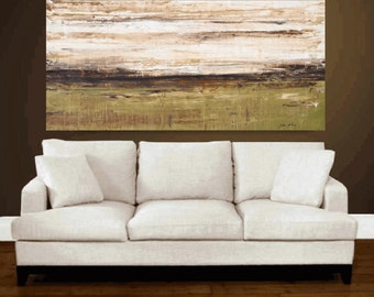"""painting, large painting, 60"""" x30"""" landscap painting  abstract painting , from jolina anthony signet  express shipping"""