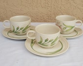 Johnson Brothers England CELEBRITY Pattern Tea Cup and Saucer Ironstone.