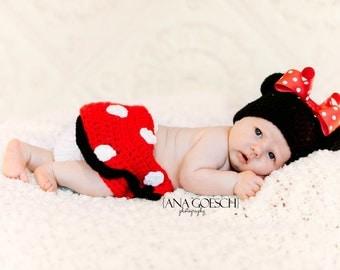Little Minnie Mouse set