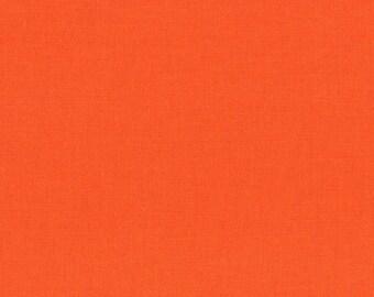Carrot, Kona Cotton, Robert Kaufman, 1/2 Yard