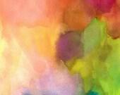 Art Print, Abstract Painting, Large, Rebirth