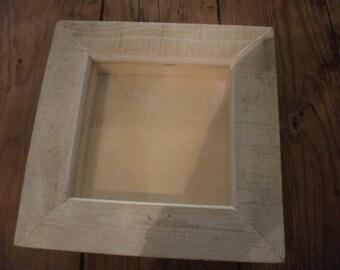 SHOW FRAME, display box,wood, home decor, cottage chic, frame,beach decor