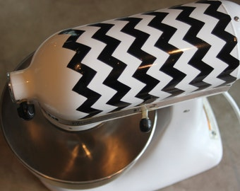 CHEVRON Pattern Vinyl Decal for your kitchenaid stand mixer - kitchen decor home decor