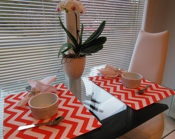 Customize Your Own Pillowscape Reversible Placemats - Select The Fabrics To Coordinate With Your Home Decor