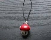 Cute Mushroom Phone Charm