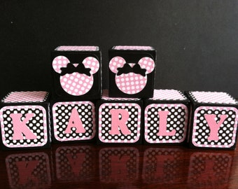 Custom Wooden Alphabet Blocks for Baby Shower, Maternity Shoot, Gender Reveal Party, new born baby