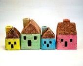 Lovely Ceramic Houses