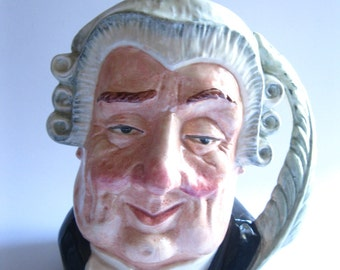 Lawyer Royal Doulton Character Toby Jug Large Size Vintage 1958  CT/FL