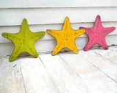 Wooden Knobby Starfish Beach Decor Nautical Wall Decor Destin Beach House Decor