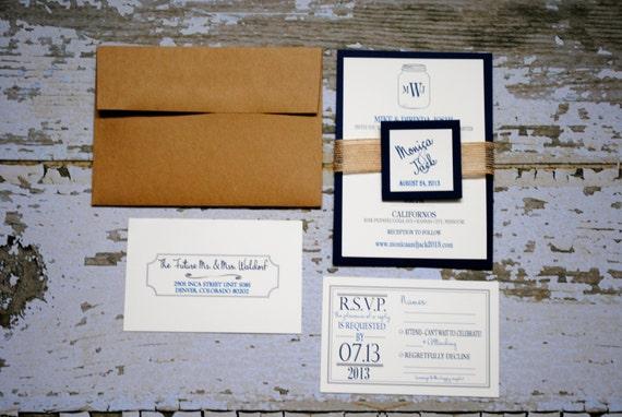 Wedding Invitation Outer Envelope