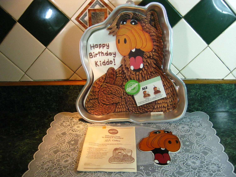 Vintage Cake Pan Wilton Alf Cake Pan