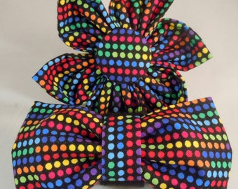 Dog Flower or Bow Tie - Timeless Dots
