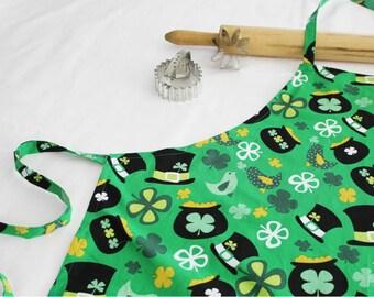 St. Patrick's Day Adult Apron