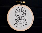 Luchador Embroidered Wall Art. 40% off SALE!