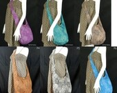Paisley Sling Crossbody Bag Messenger Purse Hippie Hoho Small in 6 color to Pick