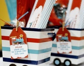 INSTANT DOWNLOAD - DIY printable favor tags - choo choo train