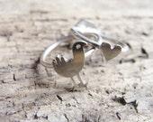 Pukeko Love Ring