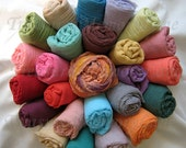 Newborn Photography Prop - Maternity Cheesecloth Wrap - 6-8 feet Long for Photo Prop,  100 Colors to Choose from Pick any Color Shade