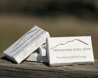 Handmade Vegan Mini Soap Guest Size - 10 Bars
