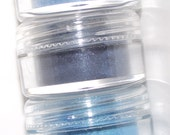 Mineral eye shadow shades of Blue shadow