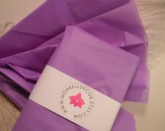 "Tissue Paper - Lavender Pastel Purple - BULK 48 Sheets of 20"" X 30"" -DIY Wedding Decor - Gift Wrap Idea - Favor Box Packaging"
