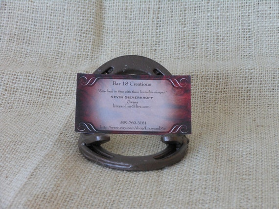 Horseshoe Business Card