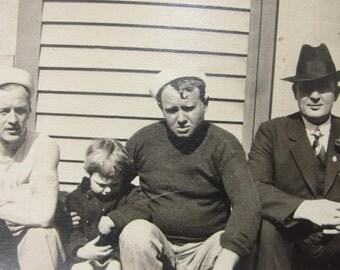 Vintage photograph  1940s Mad Men