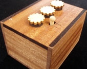 Secret Lock Box II - Can You Open the Box... Put a Gift Inside and Watch the Fun - MAHOGANY Version