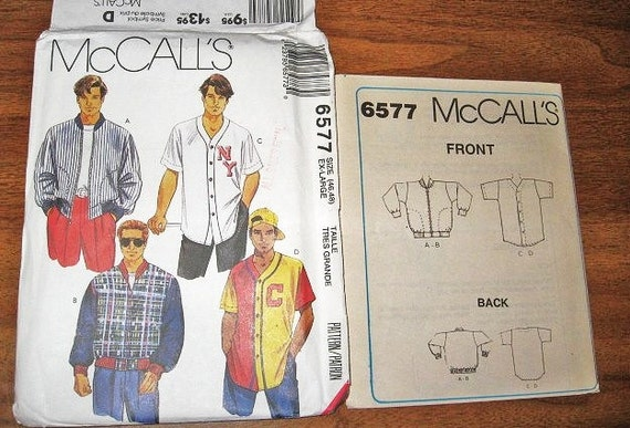 Baseball Jacket Pattern - JacketIn