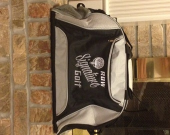 Duffel Bag Gift for Groomsmen Personalized Custom Monogrammed Duffel Bag Gym School Dance Tote Cheer Gymnastics Embroidered Large Bag