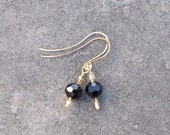 Black Champagne Earrings