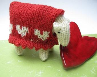 Sheep Knitting Kit - Love Ewe X