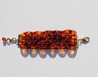 Tortoise Chain Link Bracelet