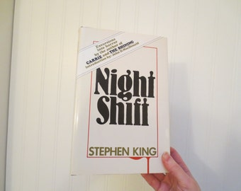 Book Safe Hidden Jewelry Box Stephen King Night Shift