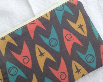 Star Trek Starfleet Insignia Small Zippered Pouch