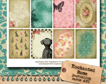 Enchanted Shabby Chic ATC