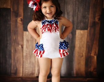 fourth of july baby girl clothes