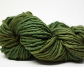 Single Ply sp Super Bulky Yarn  Hand dyed Merino 44sp13002 Olive