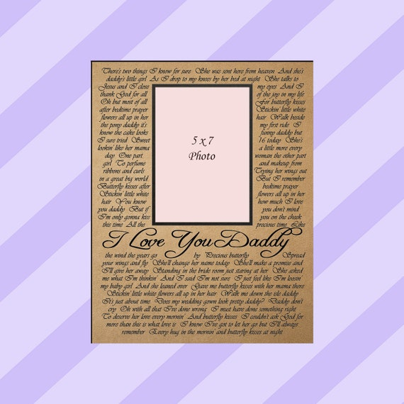 Father of the Bride Gift / Personalized Photo Mat / Gift for New Dad / Parent's Thank You Gift