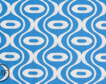 LAST PIECE Half Yard Hipster Rain Drop in Blue, Holli Zollinger, Riley Blake Designs, 100% Cotton Fabric, C519-01