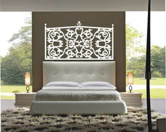 Vinyl Decal Wall Sticker Wall Tattoo Mural Art  Headboard