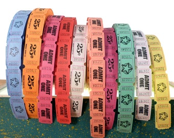 2000 Assorted Carnival Tickets