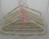 Covered baby/toddler hangers