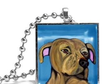 Pit Bull (Logan) Necklace - Original Design