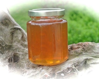 Edible Gifts For Dad, Antibiotic Free Raw Honey Jar, Gourmet Hostess Gift,  Gift  Wrapped